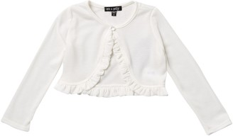Ava And Yelly Cardigan Ruffle Edge (Little Girls)