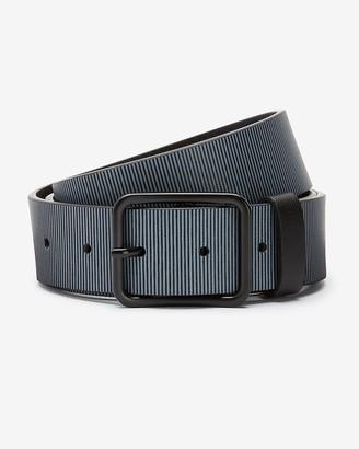 Express Grey Textured Belt