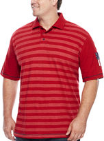 Lee Short-Sleeve Stars and Stripes Polo - Big & Tall