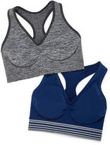 Hanes Get Cozy Pullover Comfortflex Fit 2-pc. Wireless Racerback Unlined Full Coverage Bra-Dhhb39