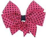 Cat & Jack Girls' Bow Clip - Cat & Jack Navy One Size