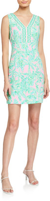 Lilly Pulitzer Vivian Printed Stretch Shift Dress