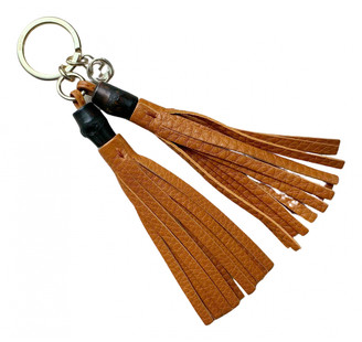 Gucci Orange Leather Bag charms
