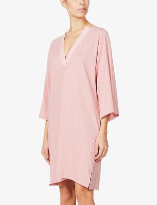 Skin Carolyn cotton-jersey pyjama top