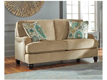 Thumbnail for your product : Alcott Hill Wimberly 63'' Square Arm Loveseat