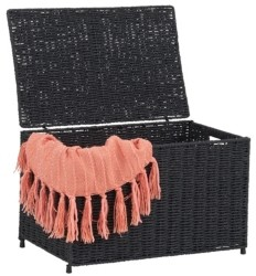 Household Essentials Small Wicker Storage Chest