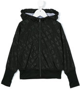 DKNY hooded jacket - kids - Polyester - 10 yrs