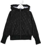 DKNY hooded jacket