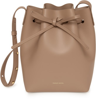 Mansur Gavriel Mini Calfskin Leather Bucket Bag