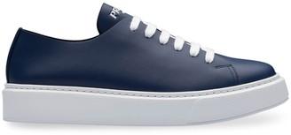 Prada Platform Low-Top Sneakers