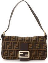 Fendi Pre-Owned Zucca Baguette Bag