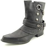 Penny Loves Kenny Swank Pointed Toe Synthetic Mid Calf Boot.