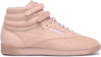 Reebok Perforated Leather High-top Sneakers