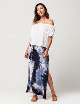 Full Tilt Tie Dye Maxi Skirt
