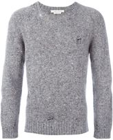 Marc Jacobs 'Olympia' distressed knit jumper