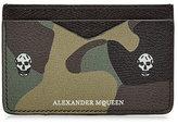 Alexander McQueen Leather Card Holder