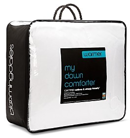 Bloomingdale's My Warmer Asthma & Allergy Friendly Down Comforter, Queen - 100% Exclusive