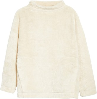 Eileen Fisher Funnel Neck Recycled Polyester Fleece Top