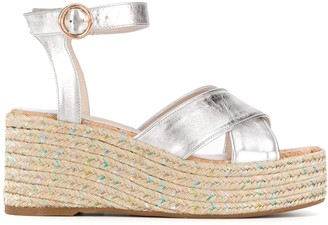 Sophia Webster Ariel 70mm wedge sandals
