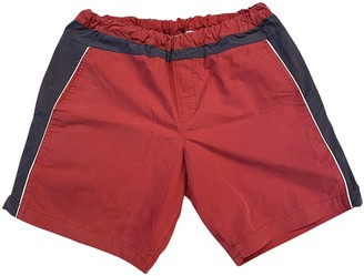 Kappa Red Cotton Shorts