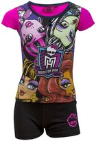 Monster High Girls Short Pajamas Age 6 to 12 Years