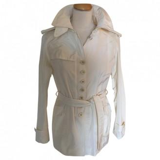 Ermanno Scervino White Trench Coat for Women