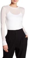 DKNY Extra Long Sleeve Rib Shirt