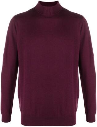 Karl Lagerfeld Paris Mock Neck Sweater