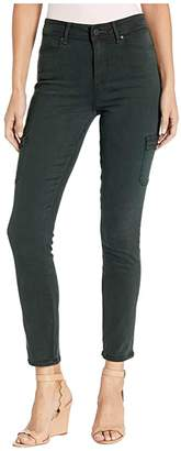 Paige Hoxton Skinny Cargo in Vintage Midnight Green (Vintage Midnight Green) Women's Jeans