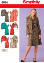 Simplicity Sewing Pattern 4014 Miss/Plus Size Dresses
