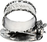 One Kings Lane Vintage 19th-C. Good Luck Napkin Ring