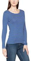 Gant Women's Rib Stripe T-Shirt Long Sleeve Top