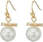 Rebecca Minkoff Small Bead Drop Earrings
