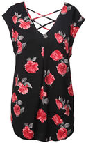 Dex Floral-Printed Woven Top