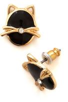 Moonlit Whiskers Earrings