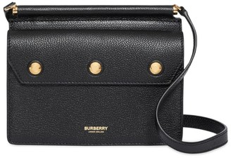 Burberry Mini Leather Title Bag