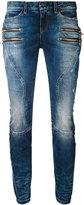 Faith Connexion zipped pocket jeans - women - Cotton/Spandex/Elastane - 27