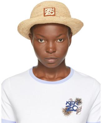 Kenzo Beige High Summer Bucket Hat