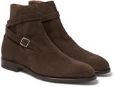 John Lobb - Abbott Suede Jodhpur Boots
