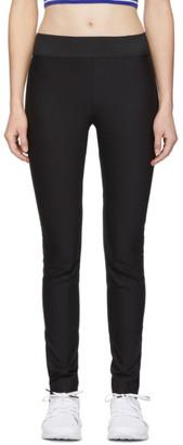 Stella McCartney Black Cotton Leggings
