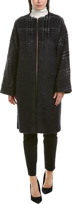 Lafayette 148 New York Alverna Wool & Mohair-Blend Coat