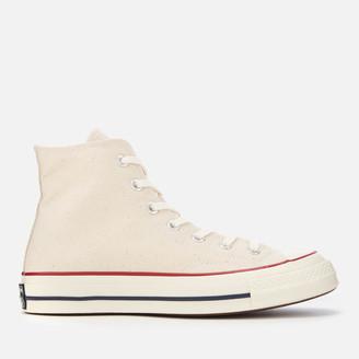 Converse Chuck 70 Hi-Top Trainers - Parchment/Garnet/Egret