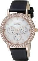 SO & CO New York Women's 5216L.5 Madison Analog Display Quartz Grey Watch