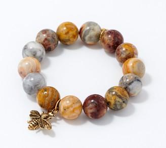 PowerBeads by jen True Blessings Charm Gemstone Bracelet