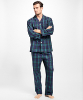 Brooks Brothers Black Watch Pajamas