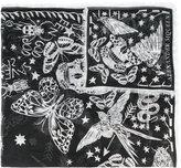 Alexander McQueen star pint scarf