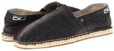 Calvin Klein Jeans Charles (Black Stonewash Denim) - Footwear
