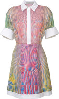 Mary Katrantzou dégradé stripe dress - women - Silk/Polyester - 10
