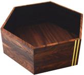 Walnut Hexagonal Bowl