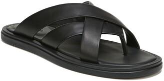 Vince Dunbar Leather Flip-Flop Sandal